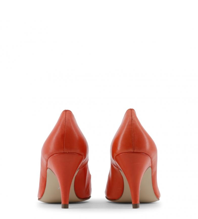 Zapatos 8cm Toscani tacón Altura piel rojo color de Arnaldo qOA1w51