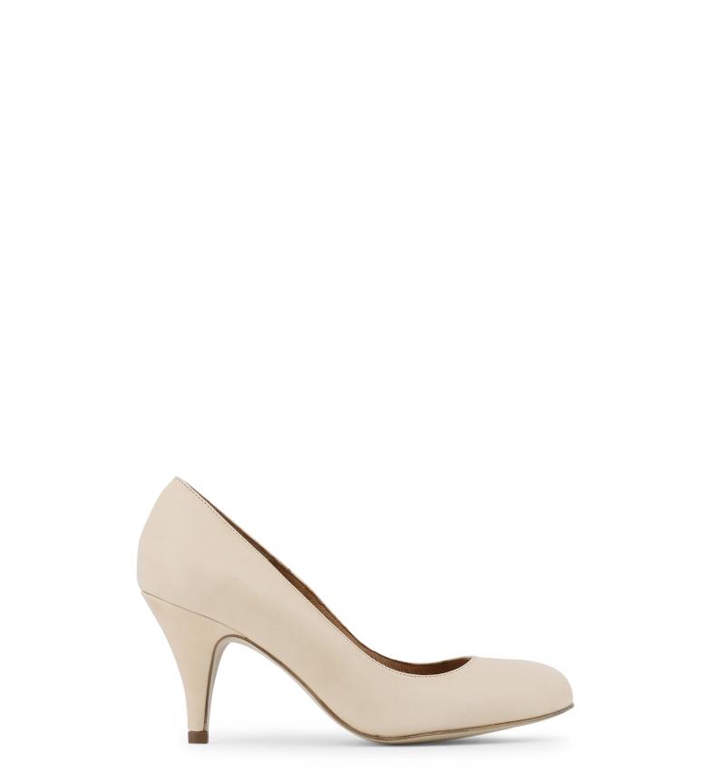 tacón Toscani Zapatos Altura color de 8cm piel natural Arnaldo PUq0g6CwC