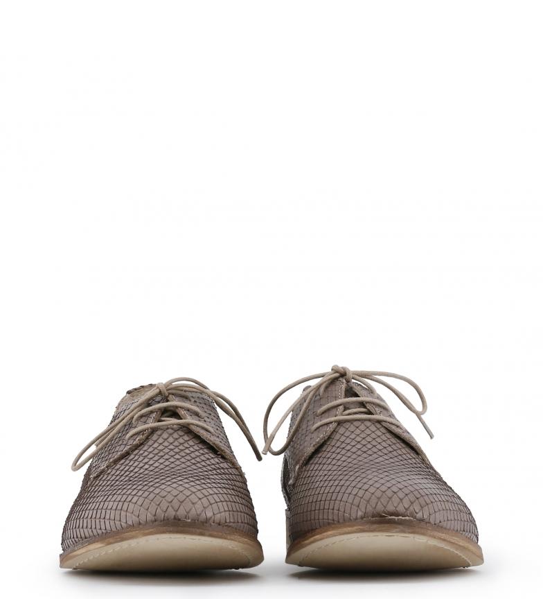 Toscani Zapatos Arnaldo piel de color marrón dPn0qw