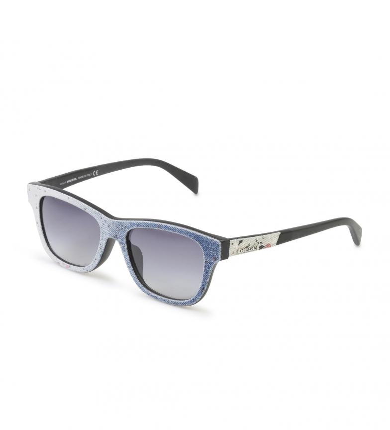 Diesel Blå Solbriller Dl0111 beste salg billig med kredittkort billig salg 100% S8HlctEewD