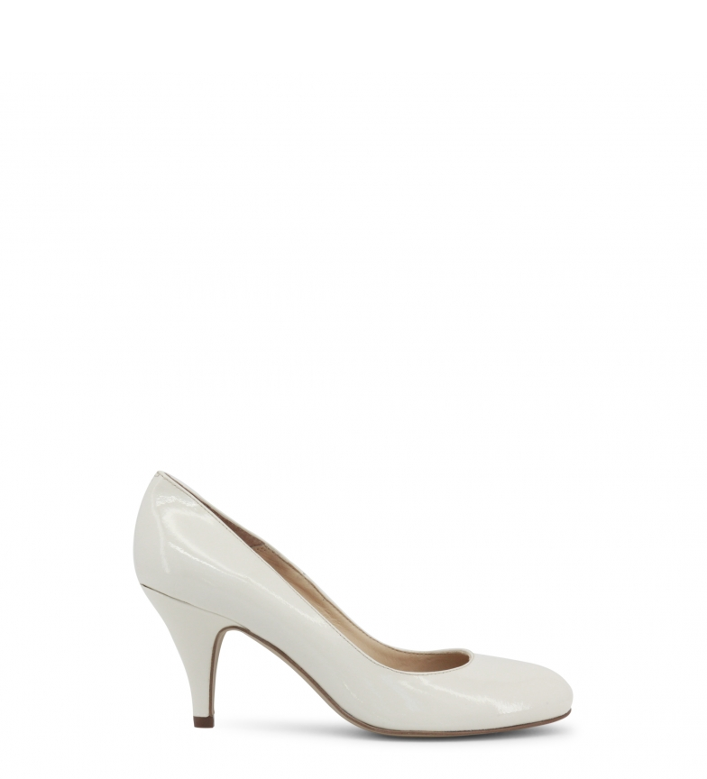 salón Toscani blanco 8cm de Zapatos tacón Altura Arnaldo charol pxwZXx