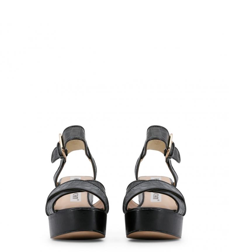 Arnaldo Toscani Sandalias de piel gris Altura tacón: 8,5cm