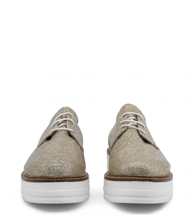 Ana Lublin Zapatos con cordones Mirela dorado Altura plataforma: 4 cm