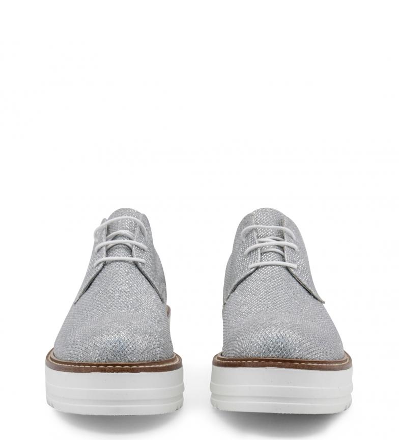 plata con Ana Altura Zapatos 4 cordones cm plataforma Lublin Mirela 7w71xZXq
