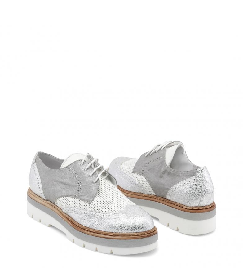 Zapatos 3 plata cordones Fathima cm Altura Lublin con 5 Ana plataforma 5HX8Uq