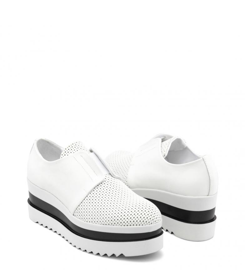 blanco Ana Zapatos Lublin plataforma cm 5 Ana Altura Marilia Lublin XgPqSxgwnr