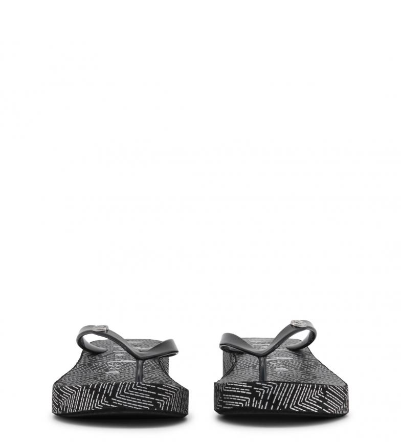U.S. Polo Flip flop FILLY4215S8_G1 negro Altura cuña: 4 cm