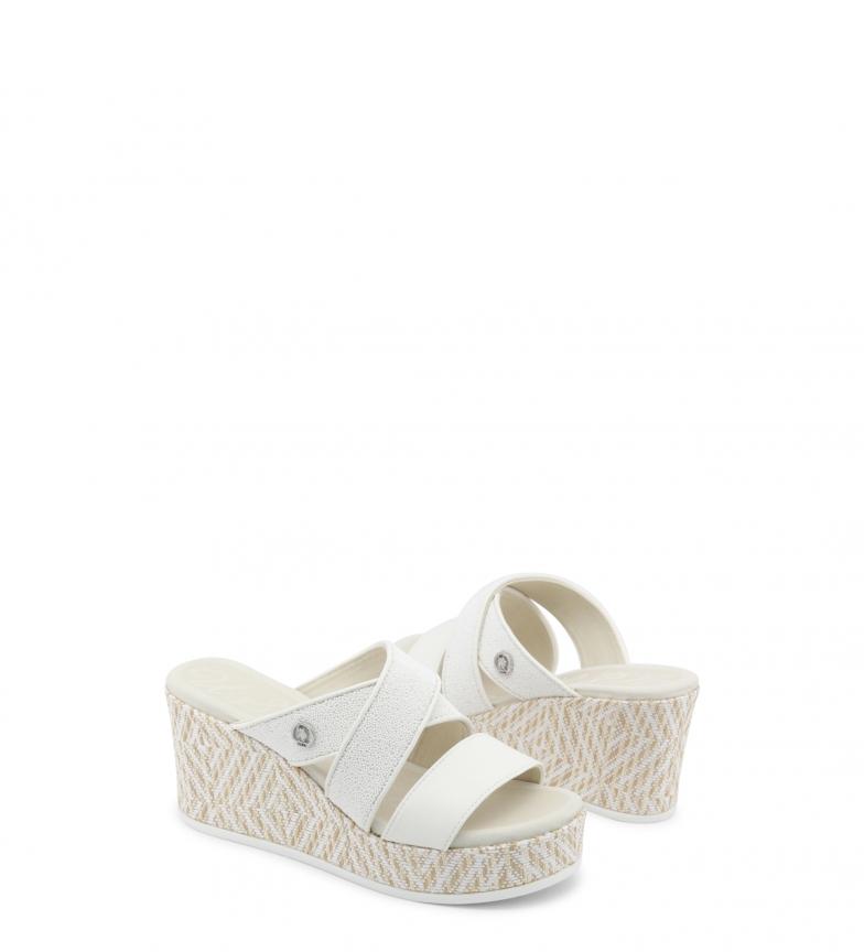 Y4 cuña S 5 8 cm Altura blanco Polo Sandalias DONET4155S8 U qfxCww