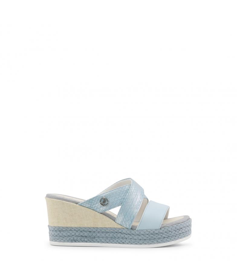 U Polo Sandalias Y2 DONET4155S8 azul 8 cuña cm 5 Altura S qgqFB7