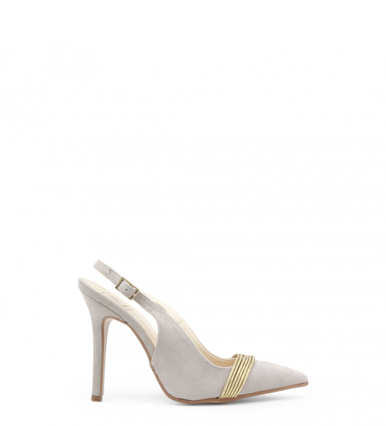 beige Italia tacón NOTTE Made In Zapatos de LA 0Hw55z6xqT