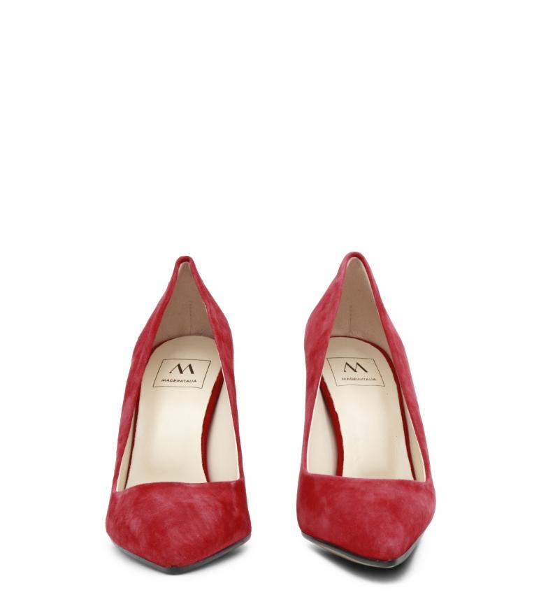 Italia de tacón Made Zapatos rojo EMOZIONI In 0AqHw7g