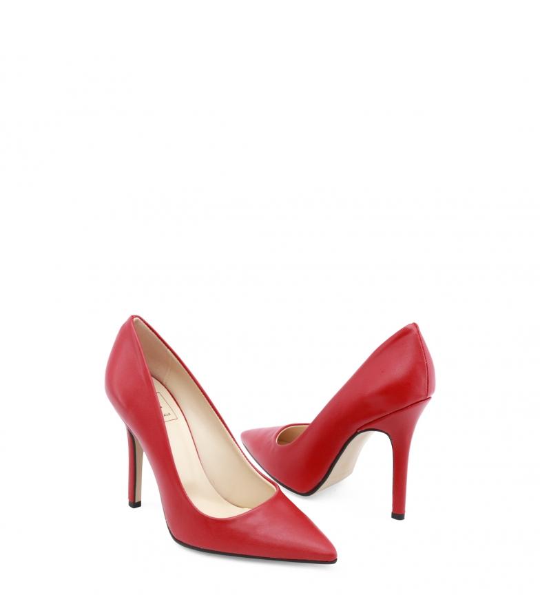 Zapatos de Italia Made tacón EMOZIONI In NAPPA rojo Rwxtq6ACEt