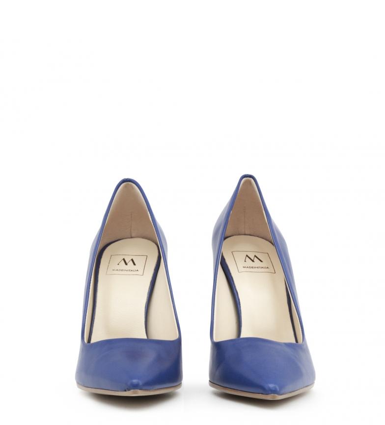 EMOZIONI Zapatos In azul Made de tacón NAPPA Italia qPpaBZ