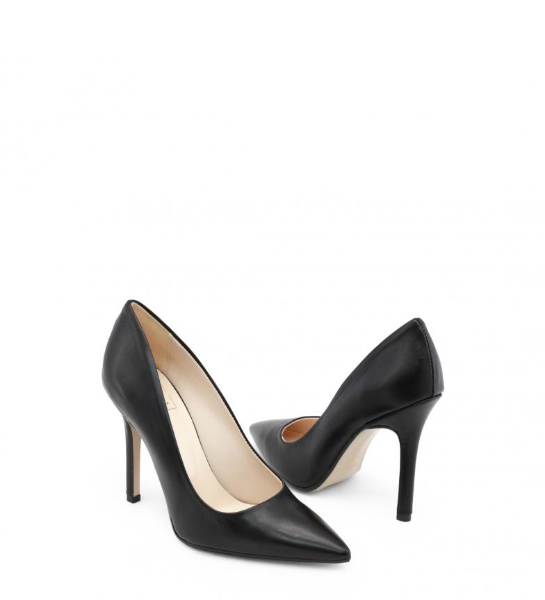 de negro tacón Made NAPPA EMOZIONI Italia Made Zapatos In In Italia qfYgn6HOq