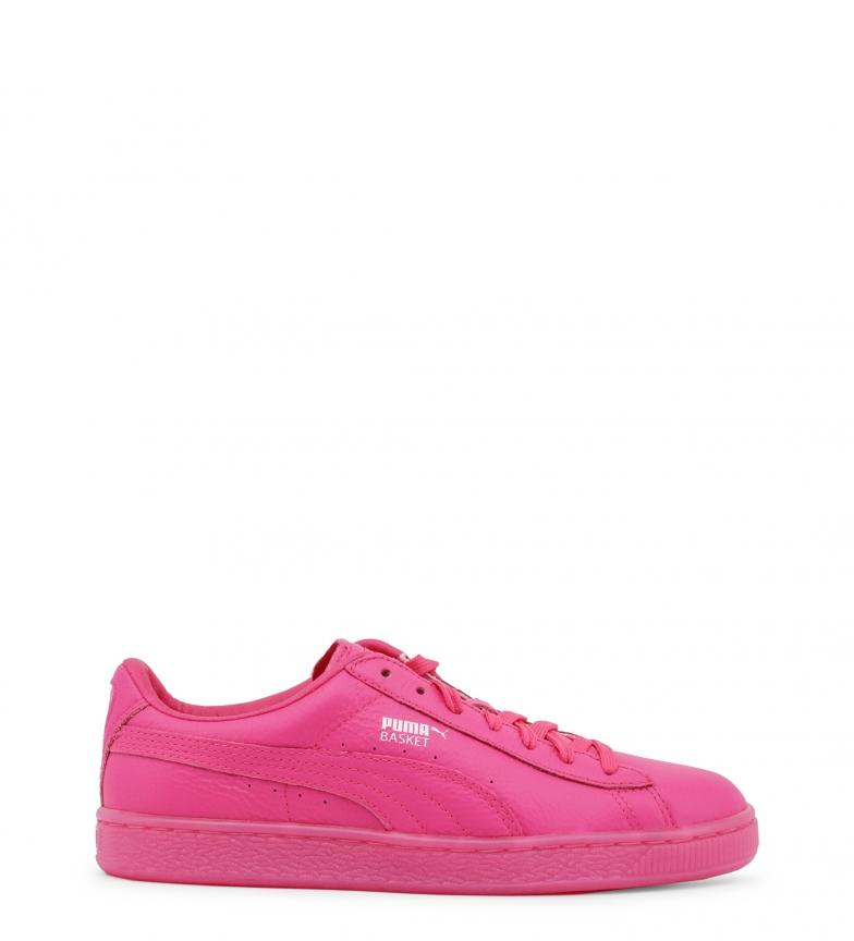 Puma rosa 363117 de piel Zapatillas 86wRA