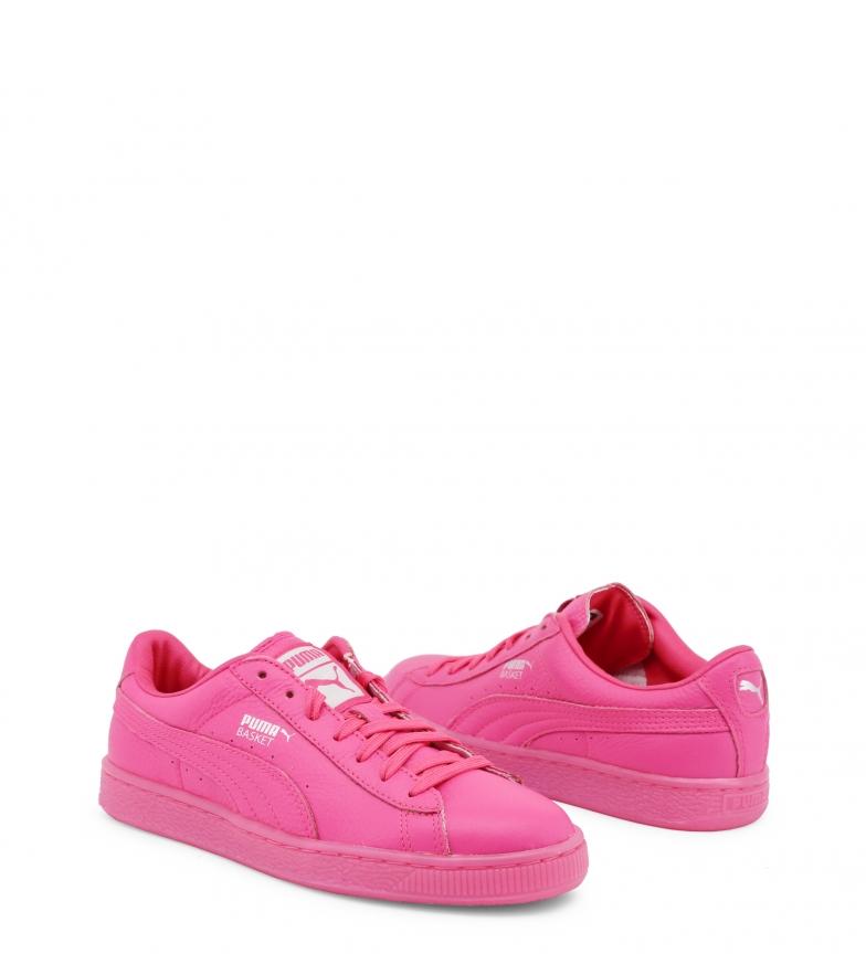 Puma Puma Zapatillas Zapatillas de de de piel 363117 rosa 363117 Zapatillas Puma rosa piel A8wgd8q