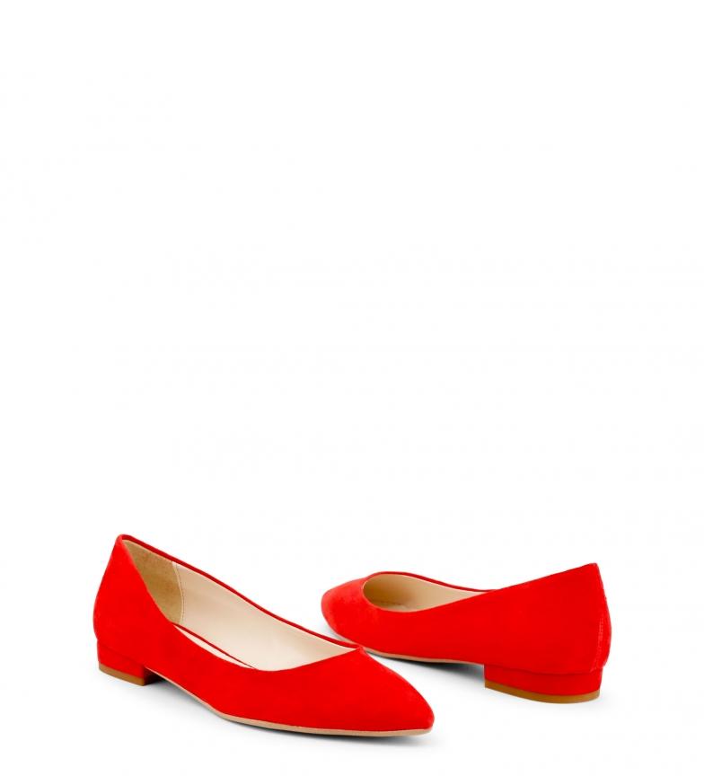 Bailarinas MARE rojo In piel Italia de MARE Made vwqaRT7