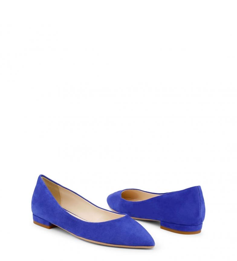 Italia MARE Bailarinas de Made In azul MARE piel 8xXnEFw56