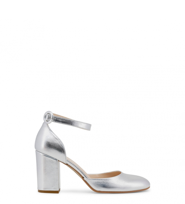 Comprar Made In Italia INSIEME leather sandals silver