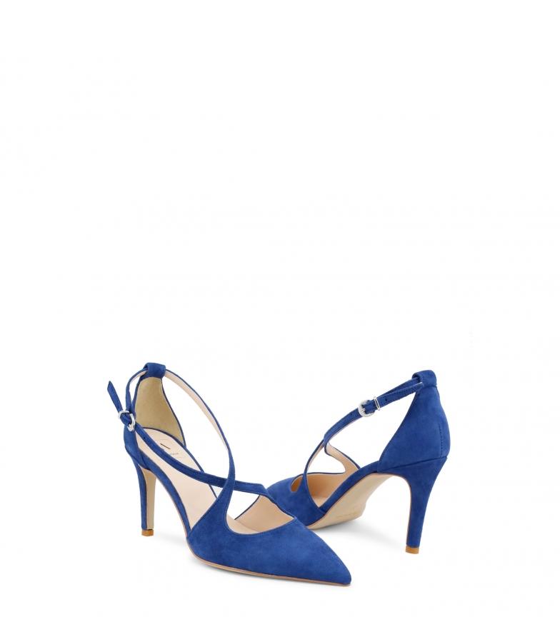 In Sandalias piel de Made Italia azul AMERICA wgq1x