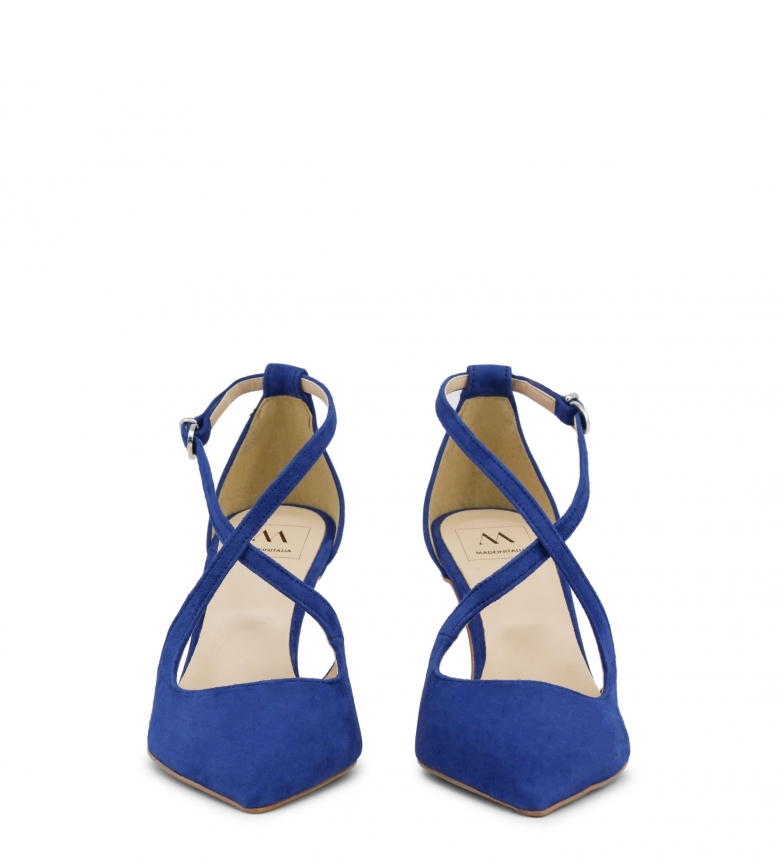 Made Italia azul In Sandalias piel de AMERICA ArAxw