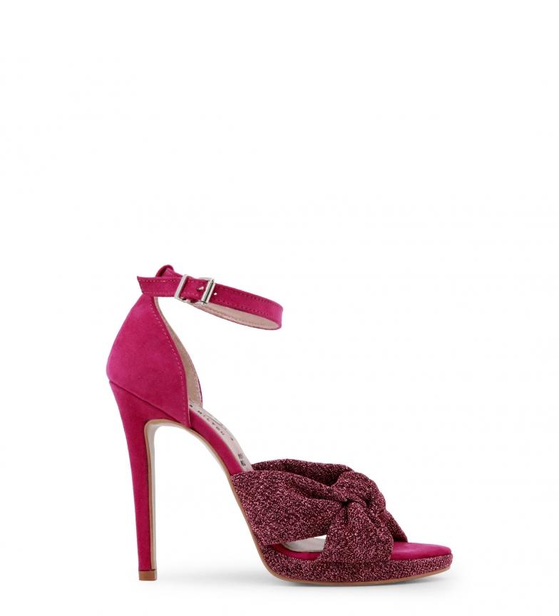 8607 Paris Hilton Hilton Sandalias violeta Paris PaCwxqCT
