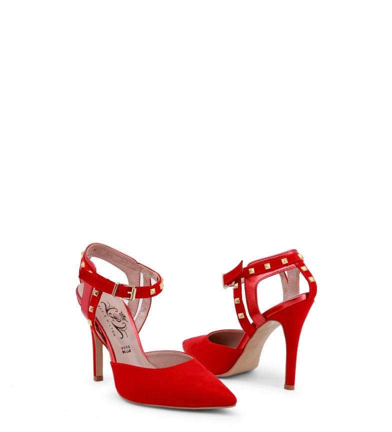 Sandalias 2762 Hilton Paris Paris Hilton rojo IaxqY6wt8