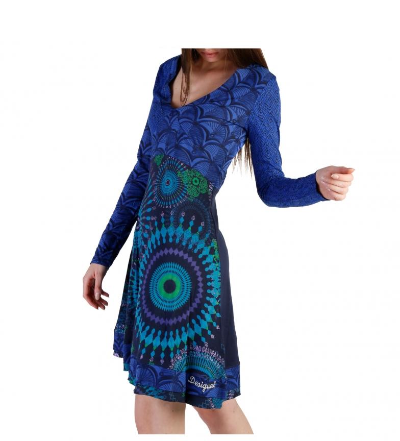 Desigual Vestido 49V2227 blue