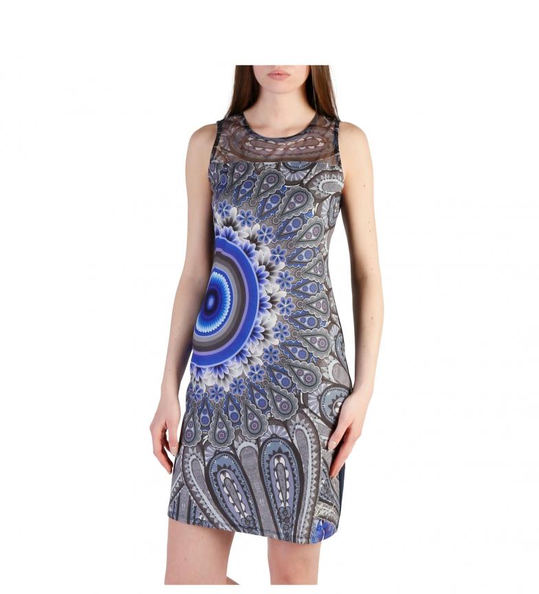 Desigual Vestido 46V2022 blue