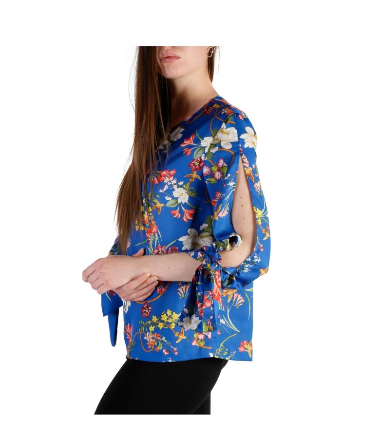mållinja online Pinko Camisa 1g139w_6858 Blå begrenset opplag oW9R5htJx