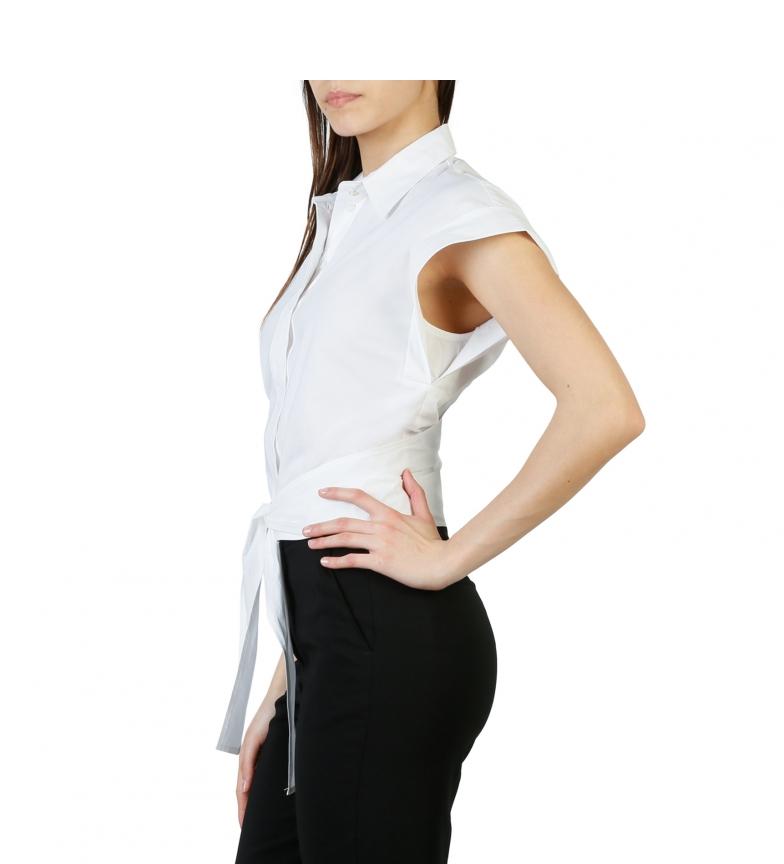 Pinko Camisa 1g12yw-y48f Hvit autentisk billig online TZqqJY