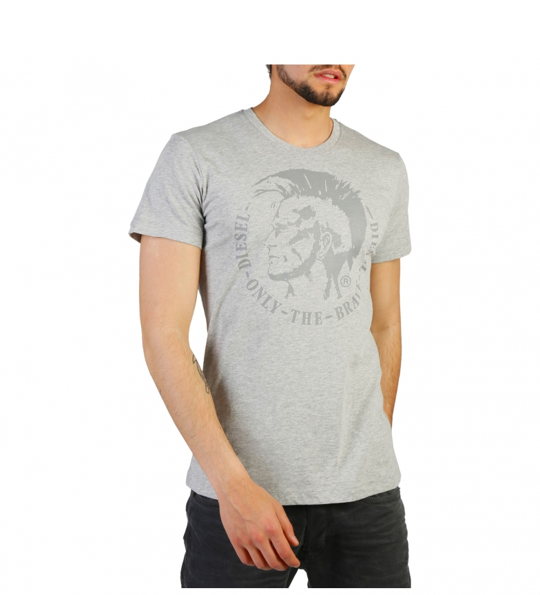 billig 2014 unisex Diesel Camiseta T-head-ps_00alnk_r091b Grå online billigste anbefale kjøpe billig perfekt bJd271Ty