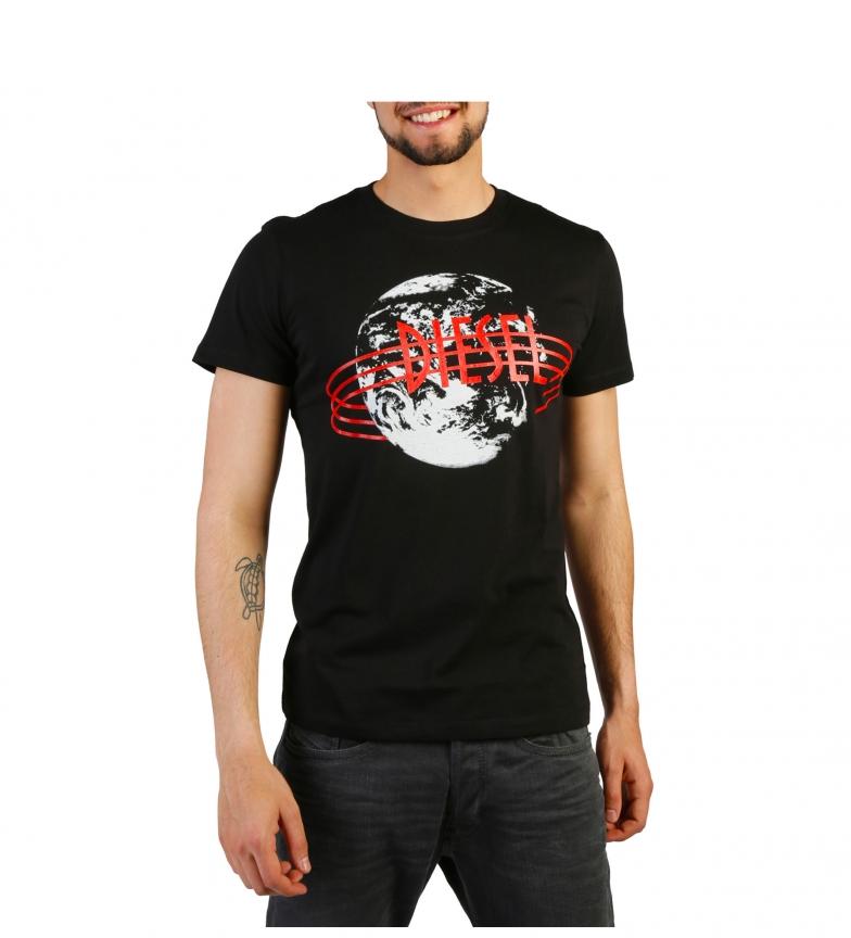 Diesel Camiseta T-DIEGO-NC_00SVR6_0091B black