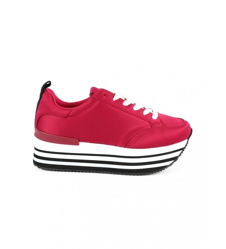 Comprar Chika10 Zapatillas Carla 04 fucsia -Altura suela: 4 cm-