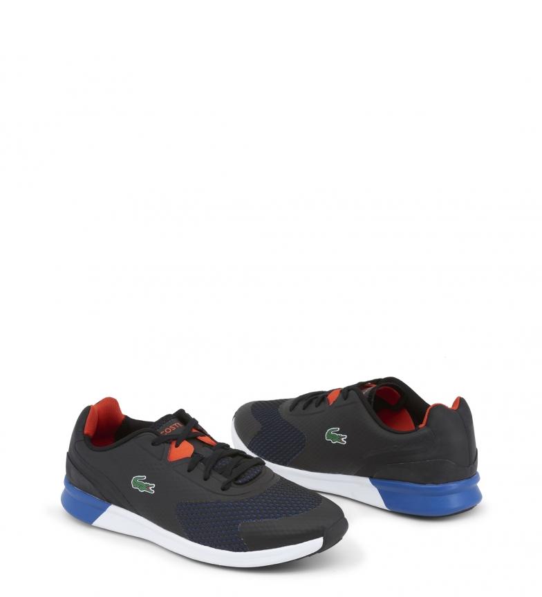 Lacoste-Sneakers-734SPM0035-LTR-Uomo-Bianco-Grigio-Nero-Casual-Sintetico