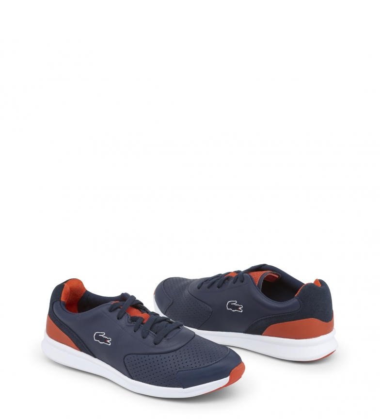 734spm0031 Blue Lacoste ltr Lacoste Sneakers l1FKTJc