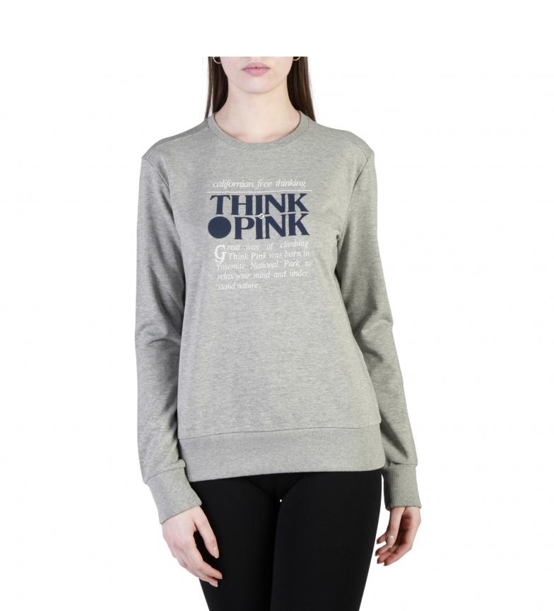 Think Pink Sudaderas T18SA3200547 grey