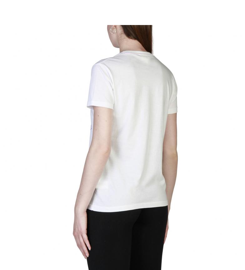 Tror Rosa Camisetas T18sa5210588 Hvit lav pris online HI62u