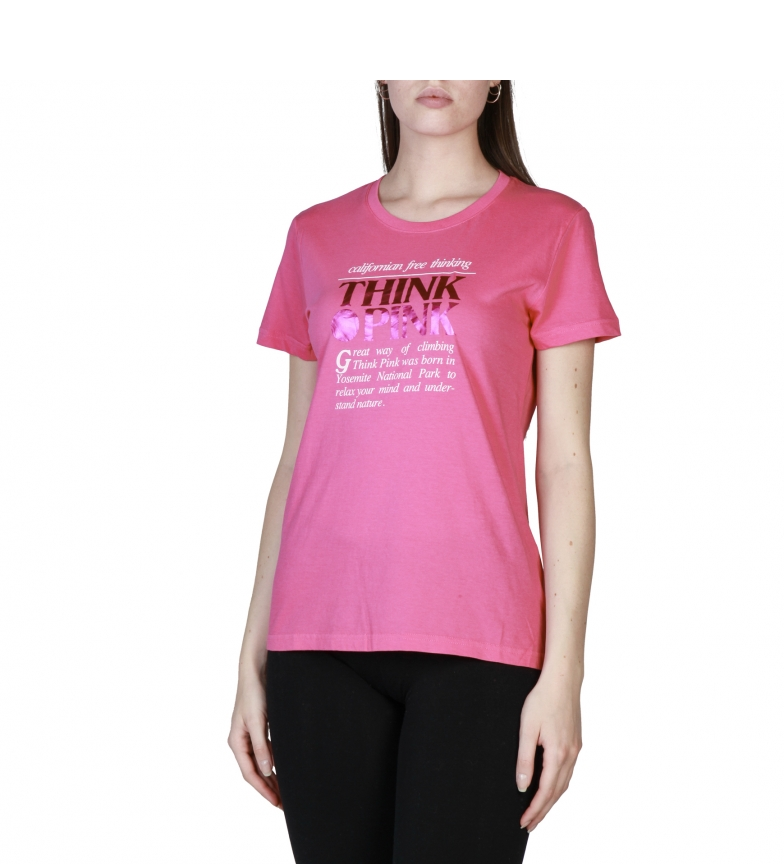 Think Pink Camisetas T18SA5200475 white