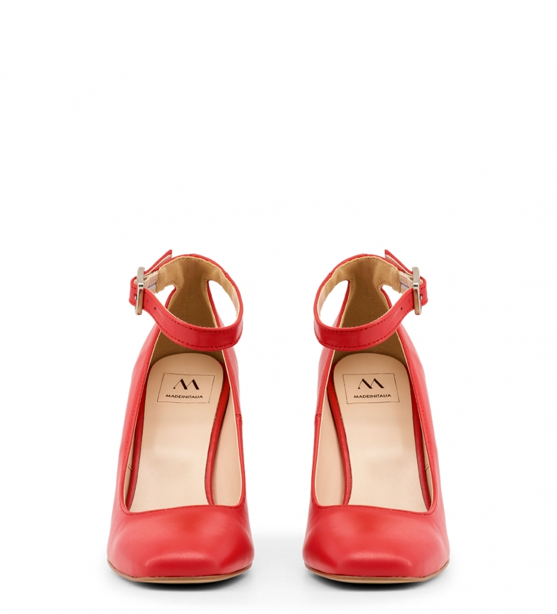In Italia Tacones Made red LUCE NAPPA Awqd44f7C