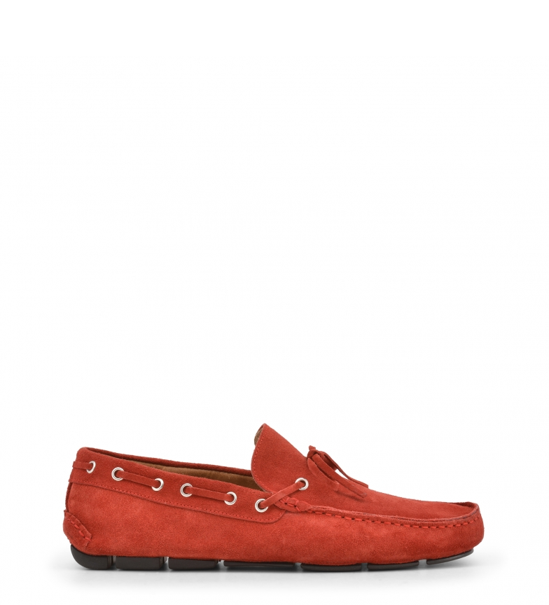 Made red In In Italia CARUSO Italia Made Mocasines CARUSO Mocasines z6wvz