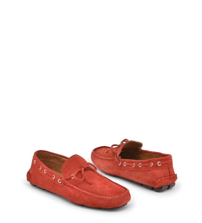 Made red CARUSO Italia Made In In Mocasines zxq5aUw