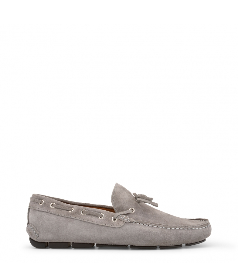 Mocasines Italia Made Made CARUSO grey In In 5ZqtqwxI0