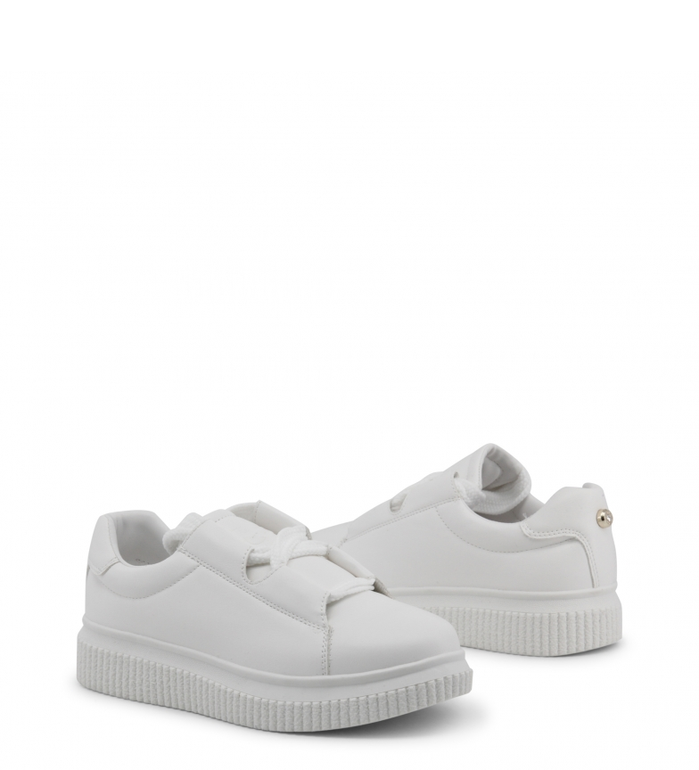 white Byblos Sneakers 682310 FUNNY Blu IH8Yww