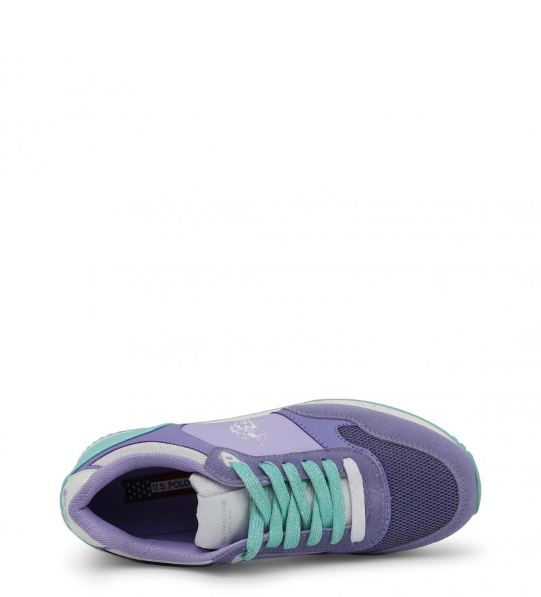 U S LT1 FREE4030S8 Polo violet Sneakers 1vYwaAqp