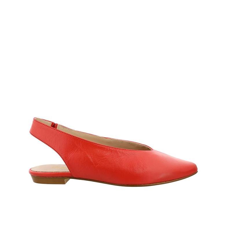 Comprar Chika10 Tina 01 sapato de couro vermelho