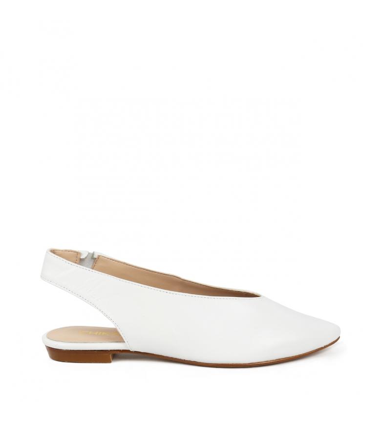 Comprar Chika10 Tina 01 sapato de couro branco