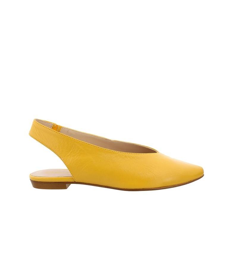 Comprar Chika10 Tina de couro 01 sapato de mostarda