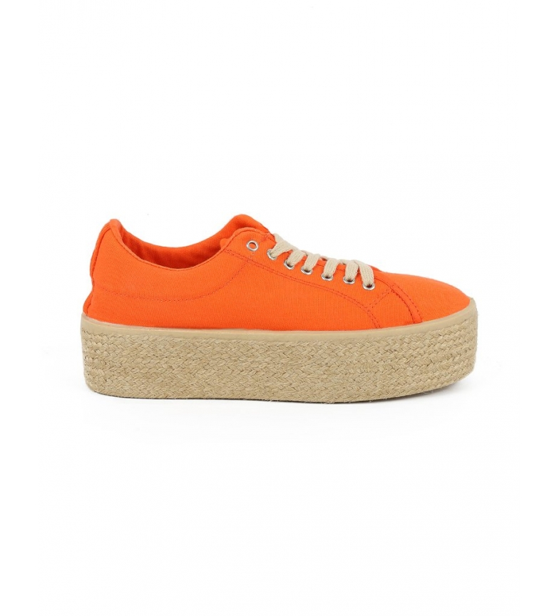 Comprar Chika10 Zapatillas ingles Puka 30 mandarina -Altura plataforma: 5cm-