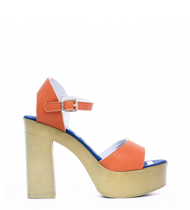 Comprar U.S. Polo Sandals FAYE4026S8_Y1 orange